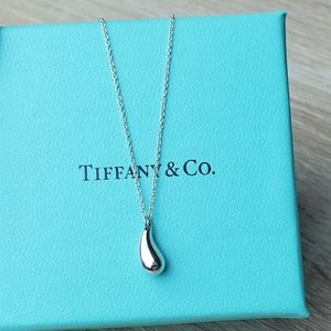 Tiffany Teardrop Pendant Necklace